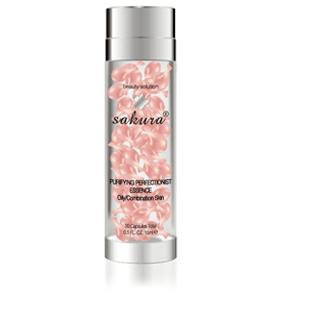 Tinh chất dưỡng trắng da phục hồi Sakura Platium Clear Whitening Essence chính hãng của Nhật