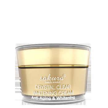 Kem dưỡng trắng da, chống lão hóa Sakura Anti-Wrinkle Whitening Cream chính hãng của Nhật