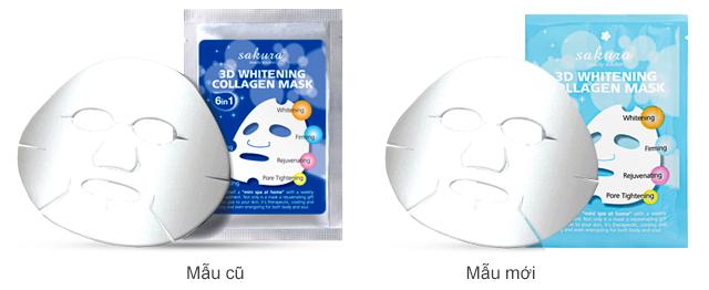 Mặt nạ trắng da Sakura có sự cải tiến vượt trội mang đến hiệu quả bất ngờ