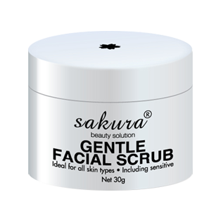 Tẩy tế bào chết cho vùng mặt Sakura Gentle Facial Scrub